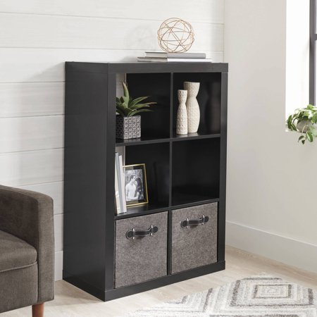 Better Homes and Gardens 6 Cube Storage Organizer, Multiple Colors - Office Cube Decoration