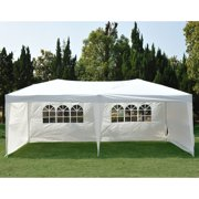 Clevr 10'x30' Wedding Party Canopy Tent, Removable Sidewalls