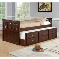 Donco Kids Captains Twin Trundle Bed