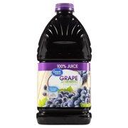 Great Value 100% Juice, Grape, 96 Fl Oz, 1 Count