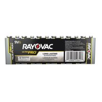 Rayovac UltraPro Alkaline, 9V Batteries, 6 Count