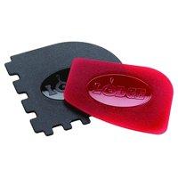 Lodge Scraper Combo 2-Pack RED/Black Pan Scraper