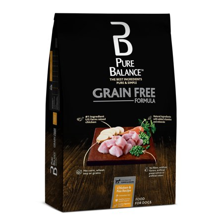 Pure Balance Grain Free Chicken Pea Recipe Dry Dog Food 24 Lb