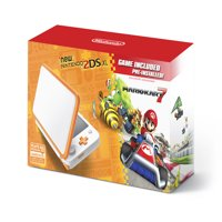 New Nintendo 2DS XL System w/ Mario Kart 7 Pre-installed, Orange & White, JANSOAD1