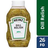 (2 Pack) Heinz Dill Relish, 9 - 26 fl oz Bottles