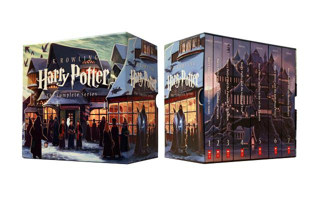 Special Edition Harry Potter Paperback Box Set - Harry Potter Bookmark Printable