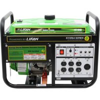Lifan Energy Storm 4100, 211cc 7hp, 4-Stroke Industrial Grade, Recoil Start, OHV Gasoline Powered Portable Generator