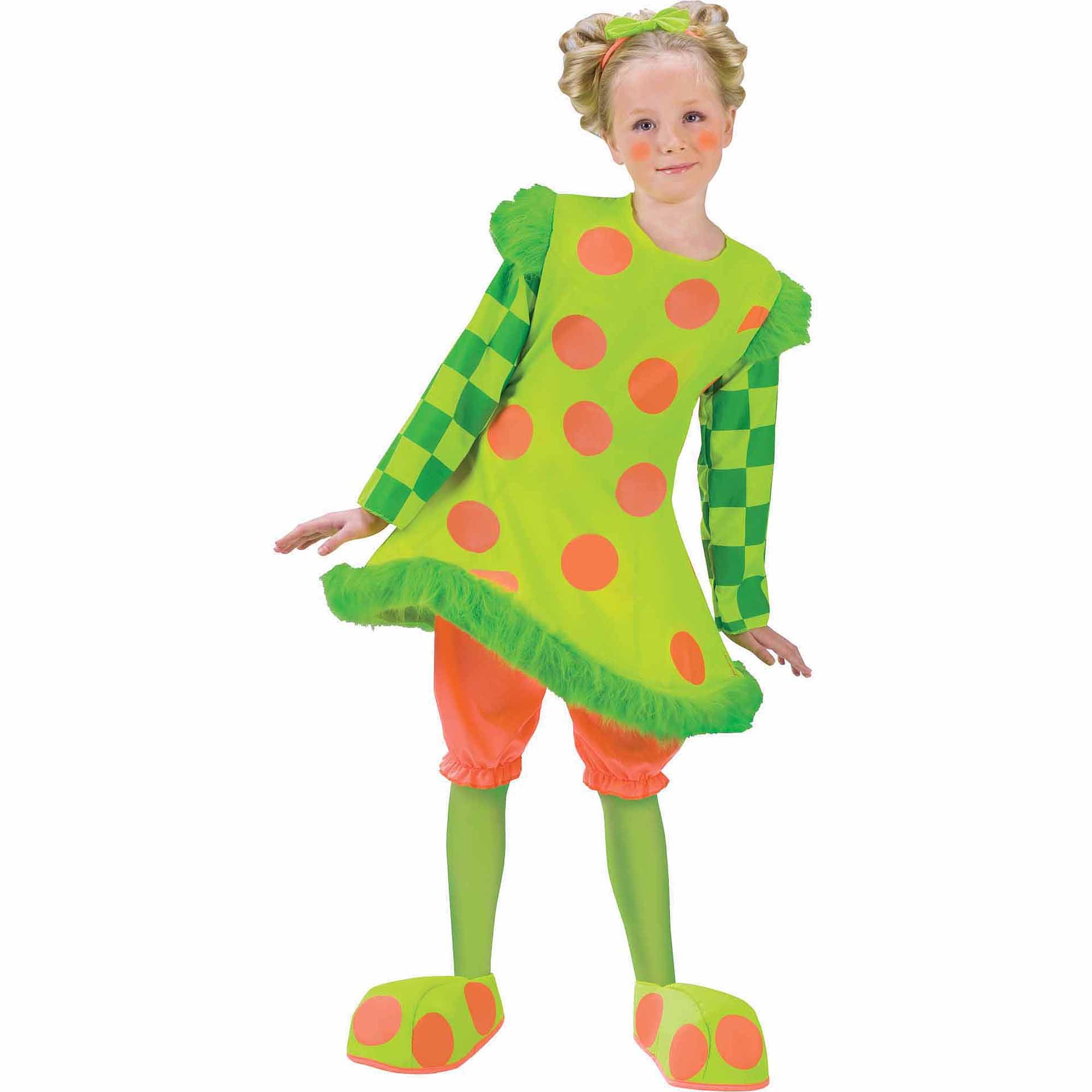 Lolli The Clown Child Girl Halloween Costume
