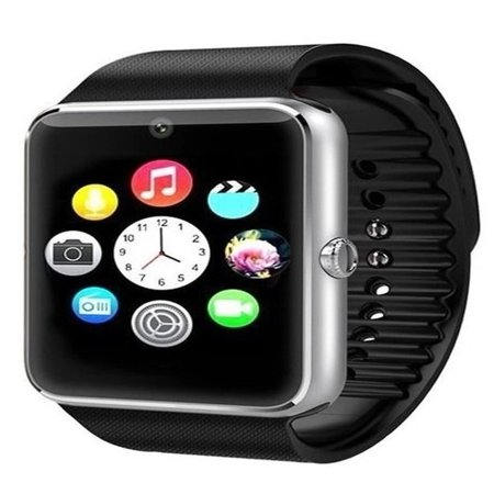 Premium Silver Bluetooth Smart Wrist Watch Phone mate for Android Touch Screen Blue Tooth Smart Watch with Camera for Adults for Kids (Supports [does not include] SIM+MEMORY CARD) (Best Smart Watches For Kids)