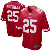 542404f48 Richard Sherman San Francisco 49ers Nike Youth Game Jersey - Scarlet