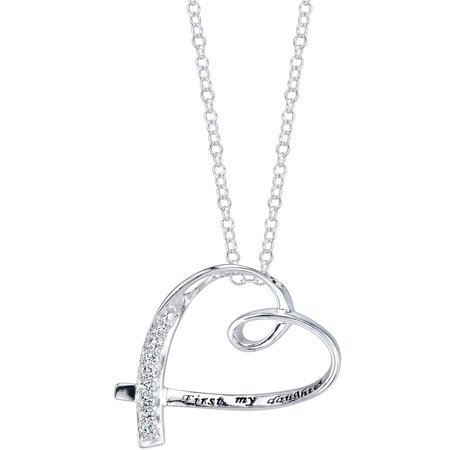 Friends Forever Heart - Sterling Silver