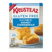 (2 Pack) Krusteaz Gluten Free Honey Cornbread Mix, 15oz Box