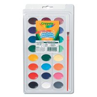 Crayola Washable Watercolors 24 count with Paint Brush