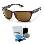 8bef87d44f8 Suncloud Cutout Injection Sunglasses - Burnished Brown