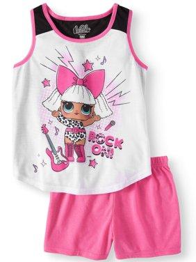 82302eb2e0 Product Image Girls  LOL Surprise 2 Piece Pajama Sleep Set (Little Girl    Big ...