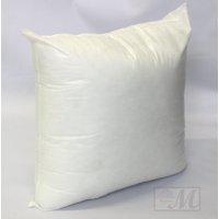 "Mybecca 18"" L X 18"" W Pillow Sham Stuffer White Square Hypoallergenic Pillow Insert (First Quality)"