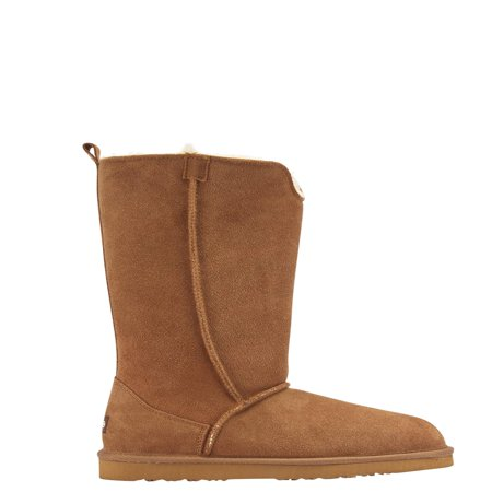 Tall Shaft Fashion Boot - women's lamo bellona suede tall boot