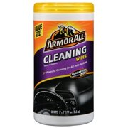 Armor All Cleaning Wipes, 50 Count, Car Cleaning, Auto Detailing