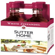 Sutter Home White Zinfandel, Rose Wine, 4 pack, 187 ML