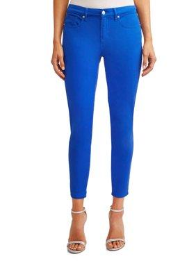 Sofía Skinny Mid Rise Stretch Ankle Twill Jean Women's (Cobalt)