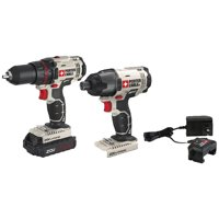 Porter-Cable PCCK604LA 20-Volt Max Cordless 2-Tool Combo Kit With Battery