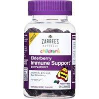 Zarbee's Naturals Children's Elderberry Immune Support Gummies (21 Gummies)