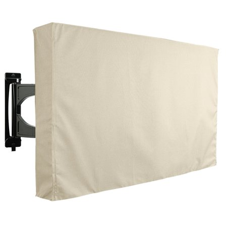 Outdoor TV Cover SAHARA Series Universal Weatherproof Protector for 55'' 58'' (Best Weather Resistant Televisions)