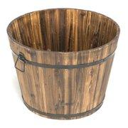 Barrel Planters