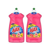 (2 Pack) Ajax Ultra Triple Action Liquid Dish Soap, Grapefruit - 52 fluid ounce
