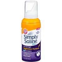 Simply Saline Plus Nighttime Nasal Mist+Eucalyptus Extra Strength 4.25 oz Each