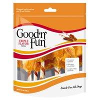 Healthy Hides Good 'n' Fun Triple Flavor Wings Dog Treats, 12-Ounce