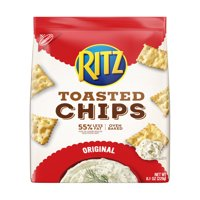 (2 Pack) Ritz Toasted Chips, Original, 8.1 oz