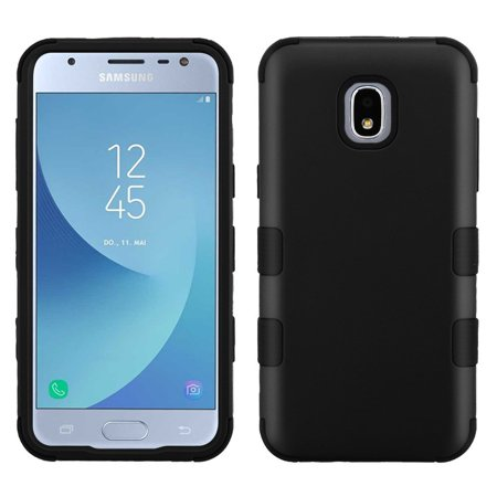 TUFF Series Case for Samsung Galaxy J3 Orbit, Heavy Duty Military Grade [MIL-STD 810G-516.6] Protection Case Cover - Black