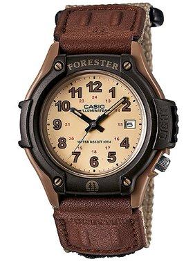 Men's Forester Analog Watch, Tan Nylon Fast-Wrap Strap
