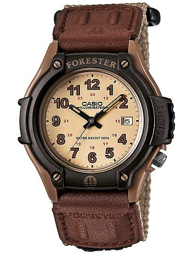 Men's Forester Analog Watch, Tan Nylon Fast-Wrap (Watches)