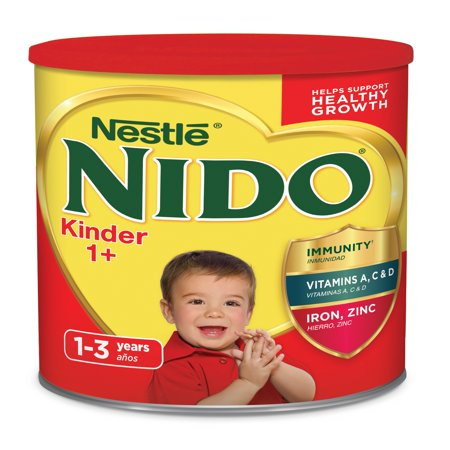 NIDO Kinder 1+ Powdered Milk Beverage 3.52 lb. Canister ()