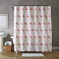 Better Homes & Gardens Flamingo Shower Curtain