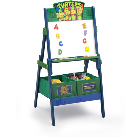 Teenage Mutant Ninja Turtles Activity Easel with Storage by Delta Children - Easel For Toddler
