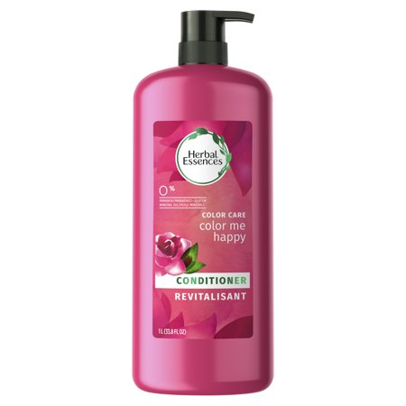 Herbal Hair Conditioner (Herbal Essences Color Me Happy Conditioner for Color-Treated Hair, 33.8 fl oz )