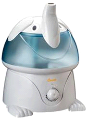 Crane Elephant Cool Mist Child's Nursery Humidifier