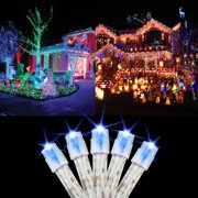 Led xmas lights 100 led christmas lights 30 feet holiday light tree string fairy lamp party wedding garden decor aloadofball Images