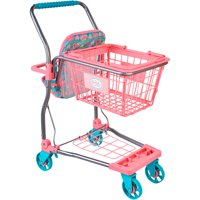 My sweet love shopping cart, pink & blue, designed for ages 3 and up