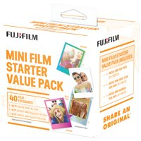 Fujifilm 600017191 Instax Mini Film Pack (Starter Value Pack)