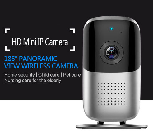 AGPtek Wireless Security Camera with 185° HD 1080 P Home Surveillance Video System Detector Systems