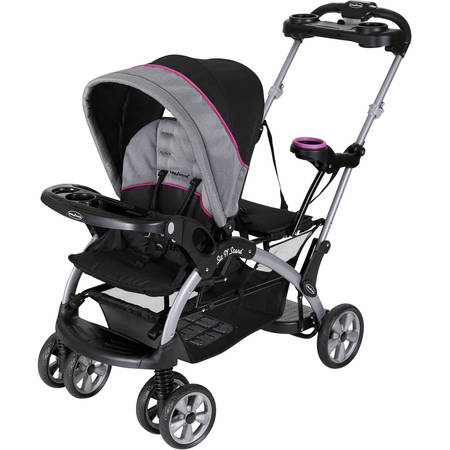 Baby Trend Sit 'N Stand Ultra Stroller, Millennium (Double Strollers Car Seats)