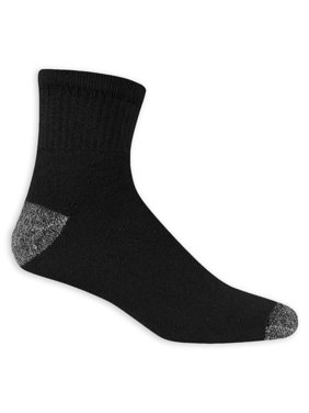 Men's Big and Tall Ankle Socks 10 Pack
