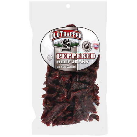 Old Trapper Peppered Beef Jerky, 10 Oz. 1 Oz Beef Jerky