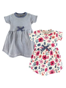 Organic Short Sleeve Dresses, 2-pack (Toddler Girls)