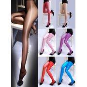 fbaced198b5 Fashion Women Sheer Oil Shiny Glossy Classic Pantyhose Sexy Tights  Stockings USA