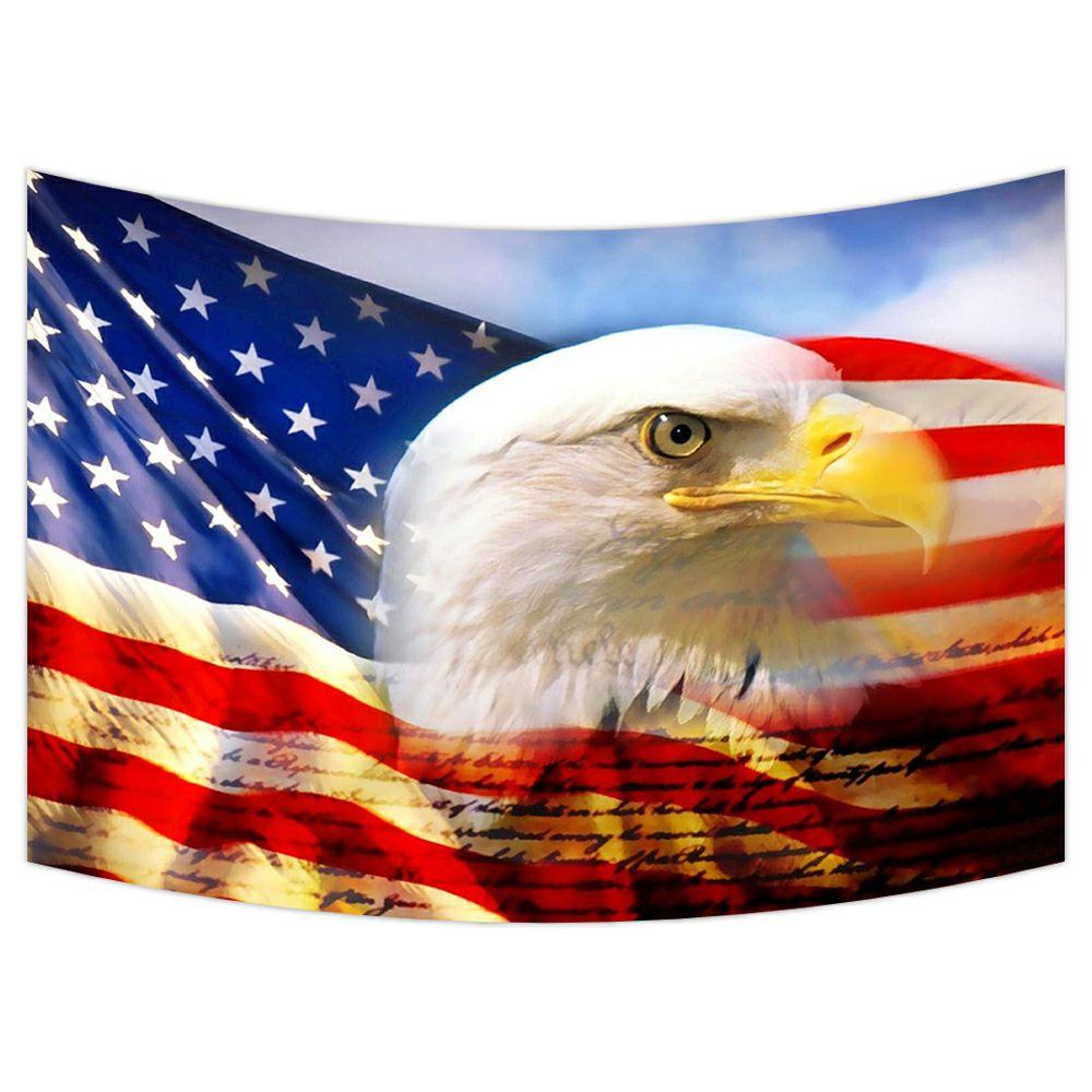 American Flag Bedroom Decor